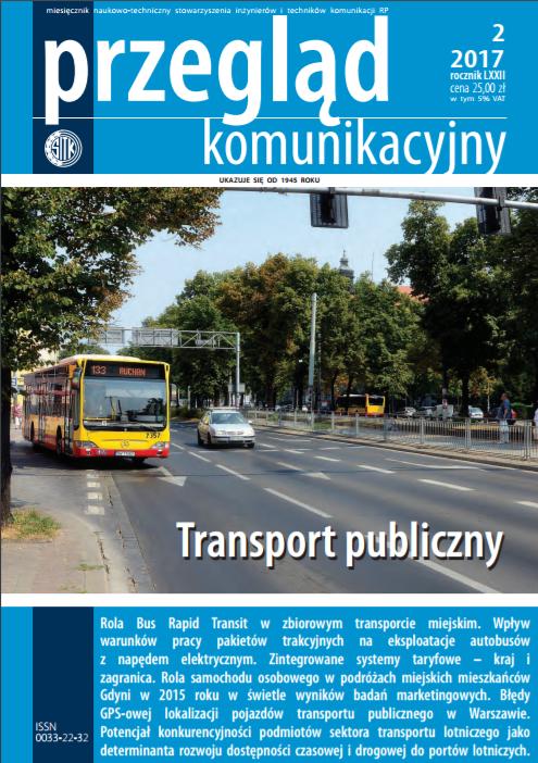 Okładka Przeglądu Komunikacyjnego nr 2/2017