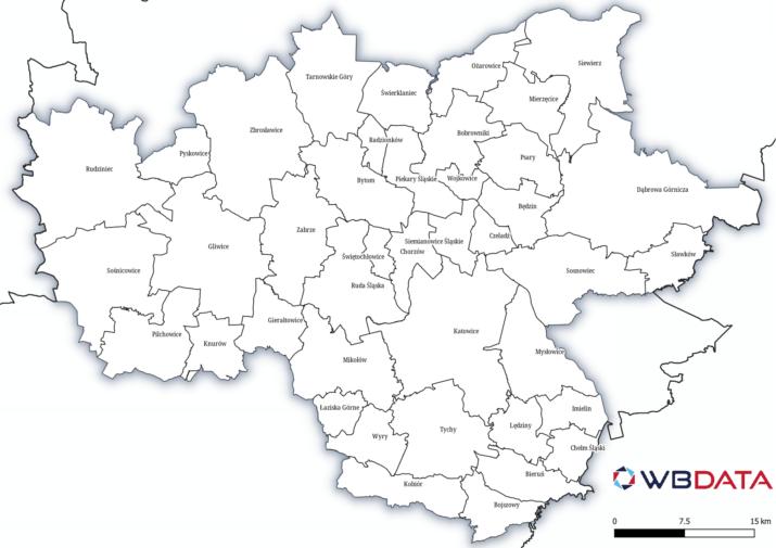 gminy GZM