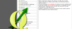 Screen QGIS, logo pochodzi ze strony (http://www.qgis.org/wiki/File:QGis_Logo.png)